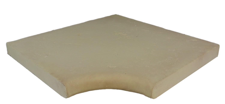 Kit margelles de piscine en pierre reconstitu e plate 4 cm for Bord de piscine en pierre