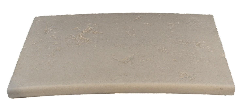 Kit de margelles pour piscine en pierre reconstitu e plate for Escalier pierre reconstituee