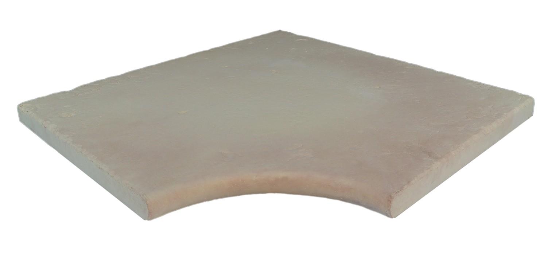 Kit margelle de piscine en pierre reconstitu e camel for Escalier pierre reconstituee