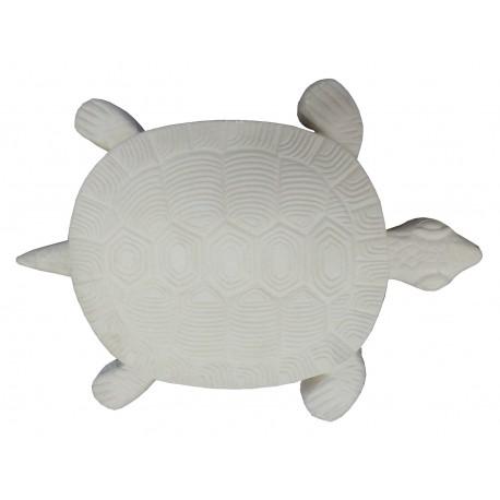 Pas japonais en pierre reconstituée animaux tortue de face