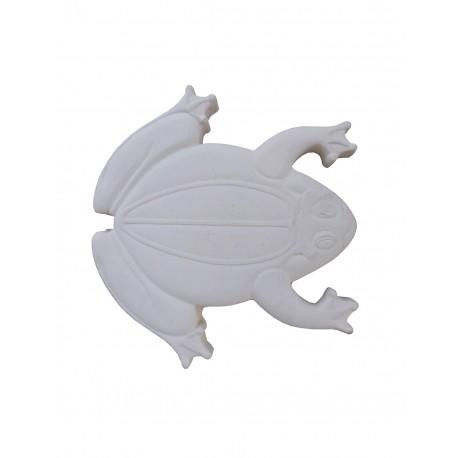 Pas japonais en pierre reconstituée animaux grenouille de face