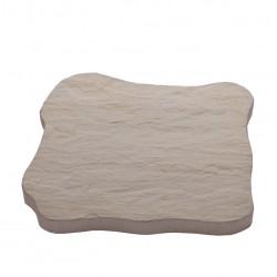 Pas japonais en pierre reconstituée ardoisé ocre