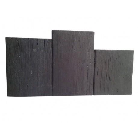 Bordure Planche Apparence Bois Noir