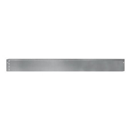 Bordure de jardin en tôle métallique zinguée droite 118 x 0,2 x 13 cm