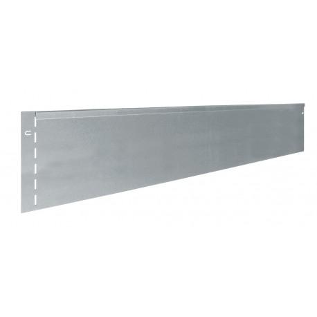 Bordure métal droite 20 x 118 cm