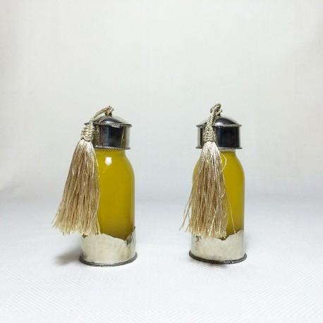 Flacons décoratifs coloris beige