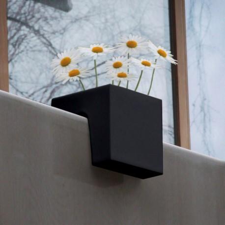 Jardinière Plastique Cubique Steckling Noire