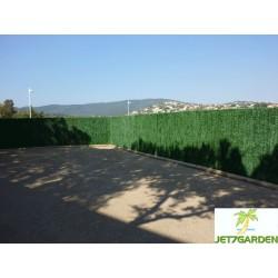 Haie artificielle de jardin en PVC 110 brins 300 x 150 cm