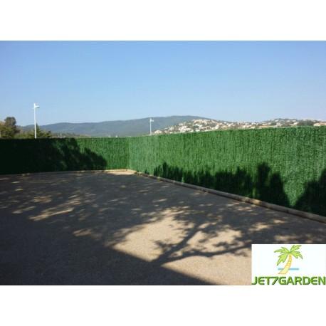 Haie artificielle de jardin en PVC 110 brins 300 x 180 cm