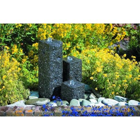 Cascade de jardin en granit carrée Taranto