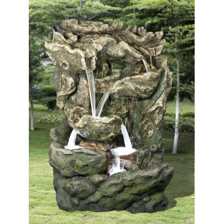 Cascade de jardin en polyrésine Dallas 144 x 123 x 206 cm