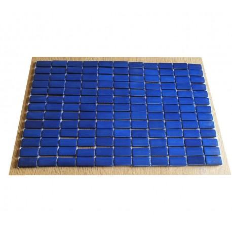 Set de table bambou bleu