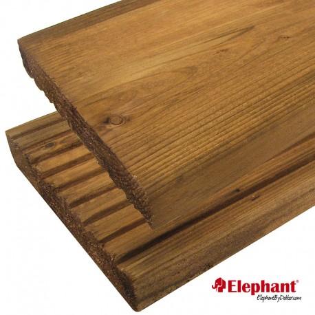 Lame de terrasse en bois européen épicéa 180 x 14,5 x 2,8 cm