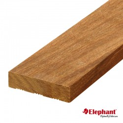 Lame de terrasse en bois exotique angelyn 215 x 12 x 1,9 cm