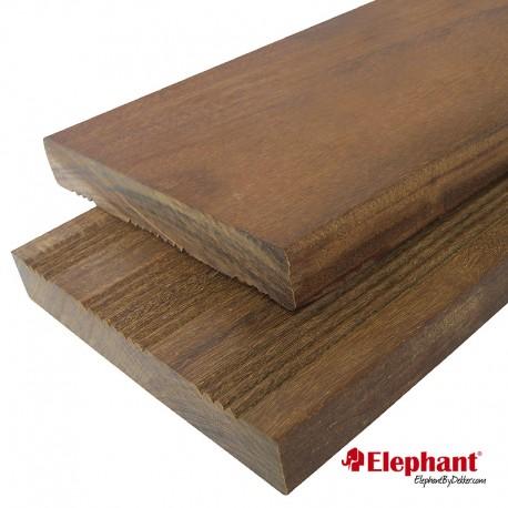 Lame de terrasse en bois exotique ipé 215 x 14,5 x 2,1 cm