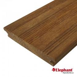 Lame de terrasse en bois exotique ipé 180 x 12 x 2,1 cm