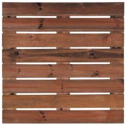 Dalle Terrasse Bois Européen Pin 80 x 80 x 2,8 cm