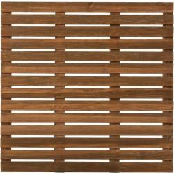 Dalle Terrasse Bois Européen Pin Sylvestre 100 x 100 x 2,8 cm brun