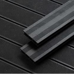 Lame Terrasse Composite Noire 12,75 x 240 x 2,8 cm