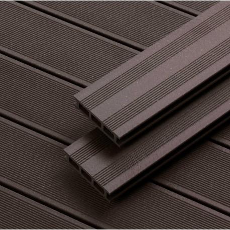 Lame Terrasse Composite Marron 12,75 x 240 x 2,8 cm