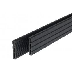 Couvre-Joints Composite 6,6 x 240 x 1,2 cm Noir
