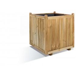 Jardinière en bois carrée Vendôme 70 x 70 x 75 cm
