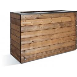 Jardinière en bois rectangulaire Selekt 120 x 45 x 76 cm