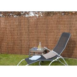 Canisse de jardin en brande de bruyère naturelle 500 x 150 cm
