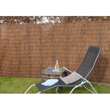Canisse de jardin en brande de bruyère naturelle 500 x 200 cm