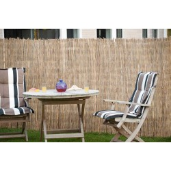 Canisse de jardin en bambou naturel fendu 500 x 100 cm