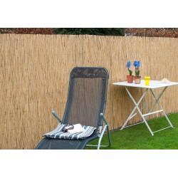 Canisse de jardin en paille de riz naturelle 500 x 100 cm
