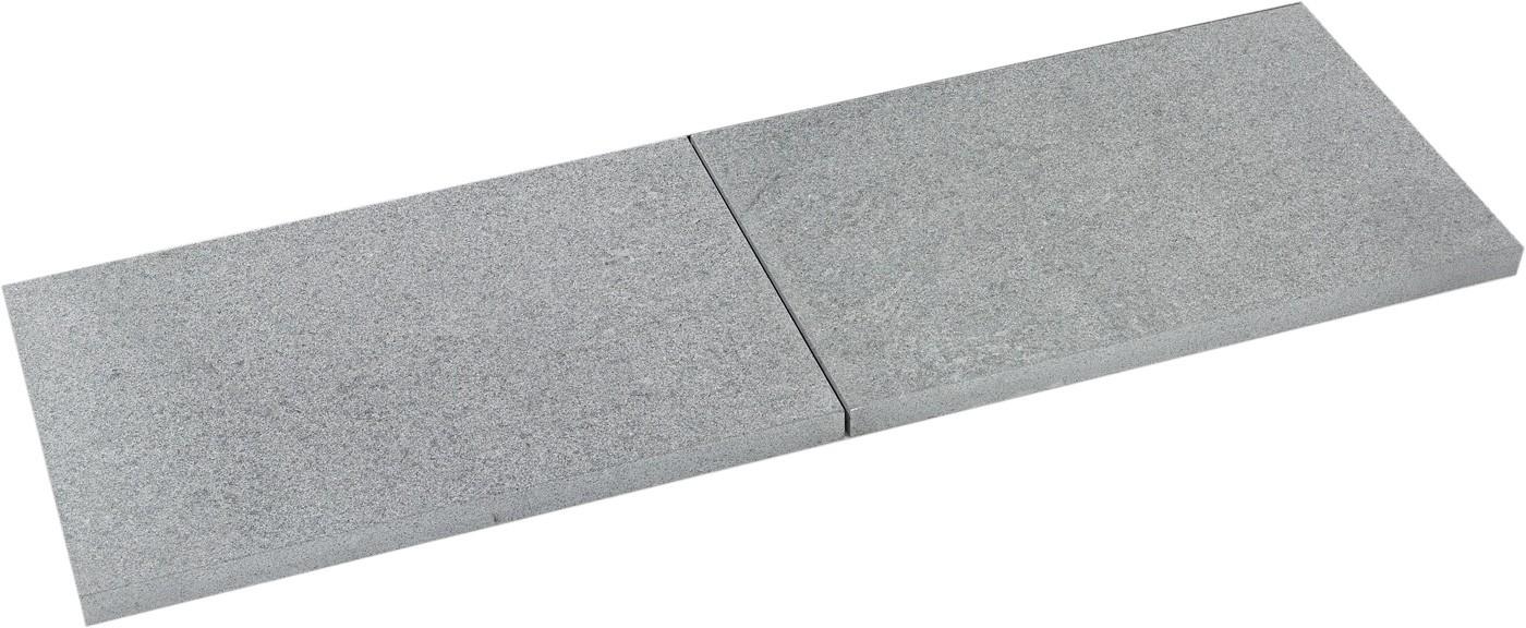 pas japonais de jardin en pierre naturelle granit flamm e 60 x 40 x 2 cm abysse. Black Bedroom Furniture Sets. Home Design Ideas