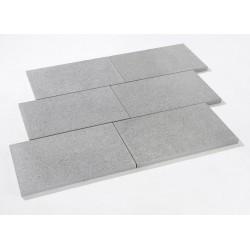Dalle en pierre naturelle granit flammé G654 40 x 60 x 3 cm