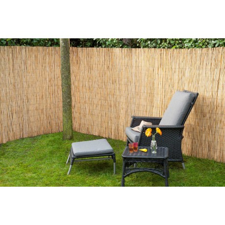 Canisse de jardin en roseau naturel 500 x 100 cm