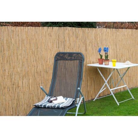 Canisse de jardin en paille de chaume naturel 300 x 100 cm