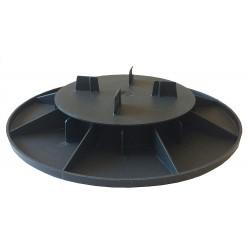 Plot réglable polypropylène 25 à 40 mm