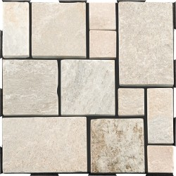Dalle Clipsable Patchwork Quartzite