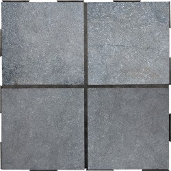 Dalle Clipsable Pierre Bleue Sablée 30 x 30 cm