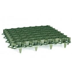 Dalle à engazonner 47 x 47 cm ép.3,9 cm, résistance : 2,5 T