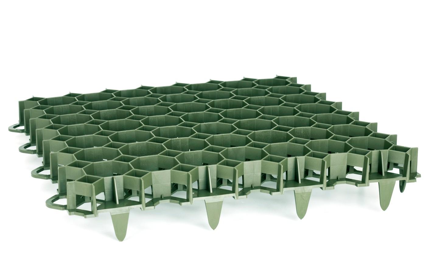 Dalle en PVC à Engazonner Stella Green 50 x 50 cm EP 4 9 cm 3 5 T