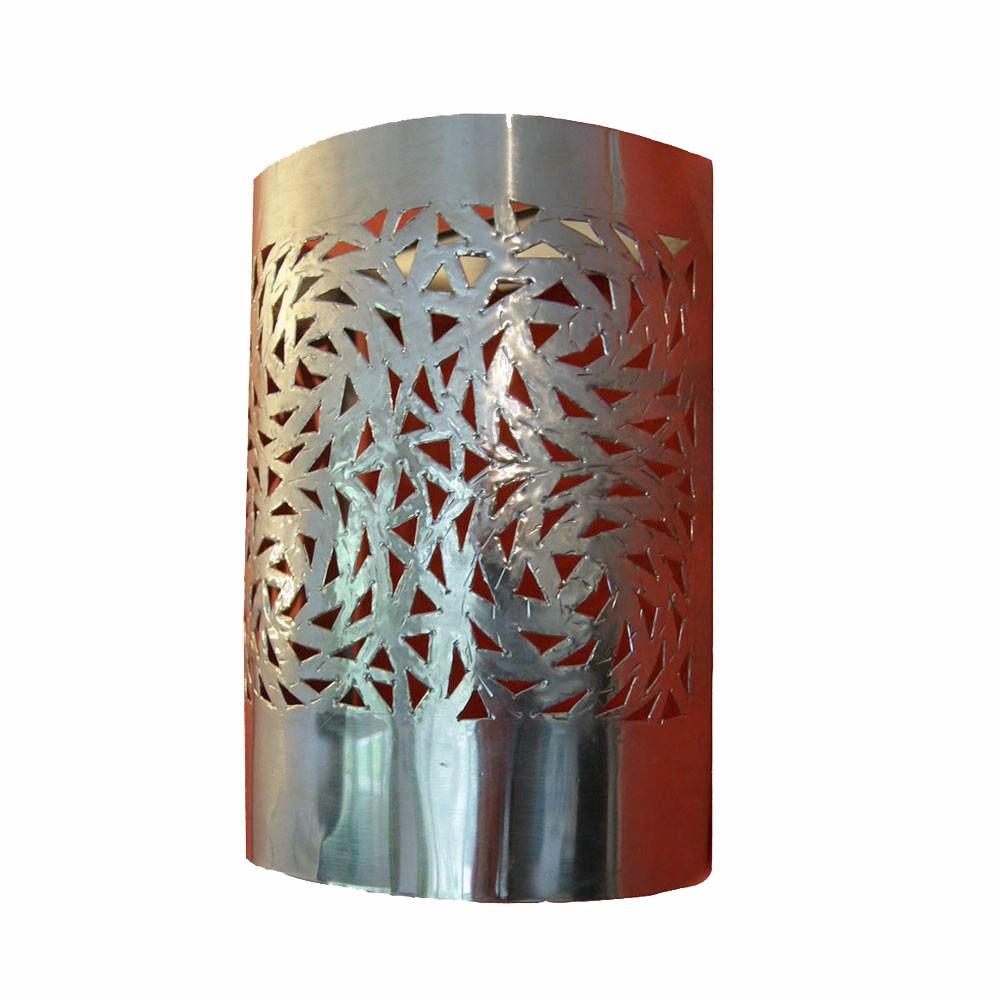 applique murale design en aluminium rectangulaire 20 x 15 cm. Black Bedroom Furniture Sets. Home Design Ideas