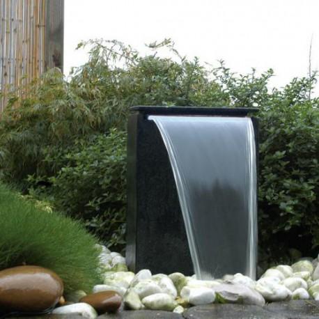 Cascade de jardin en terrazzo rectangulaire Vicenza 35 x 15 x 50 cm