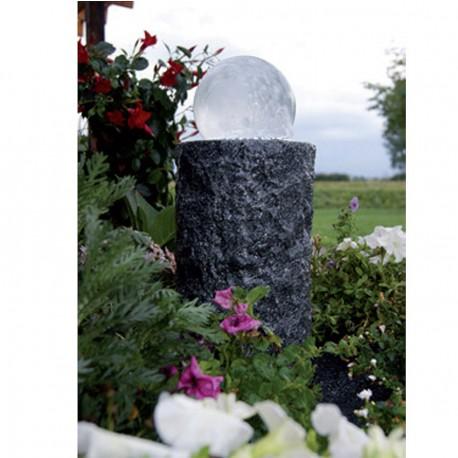 Cascade de jardin en granit ronde Las Palmas 20 x 20 x 35 cm