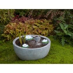 Cascade de jardin en polystone Mini Bassin III 50 x 50 x 30 cm