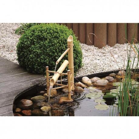 Cascade de jardin en bois Bambou 39 x 13,5 x 69 cm