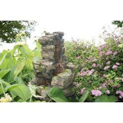 Cascade de jardin en polyrésine Chios 66 x 38,5 x 56 cm