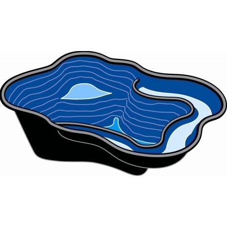 Bassin Préfabriqué Plastique Iris SI