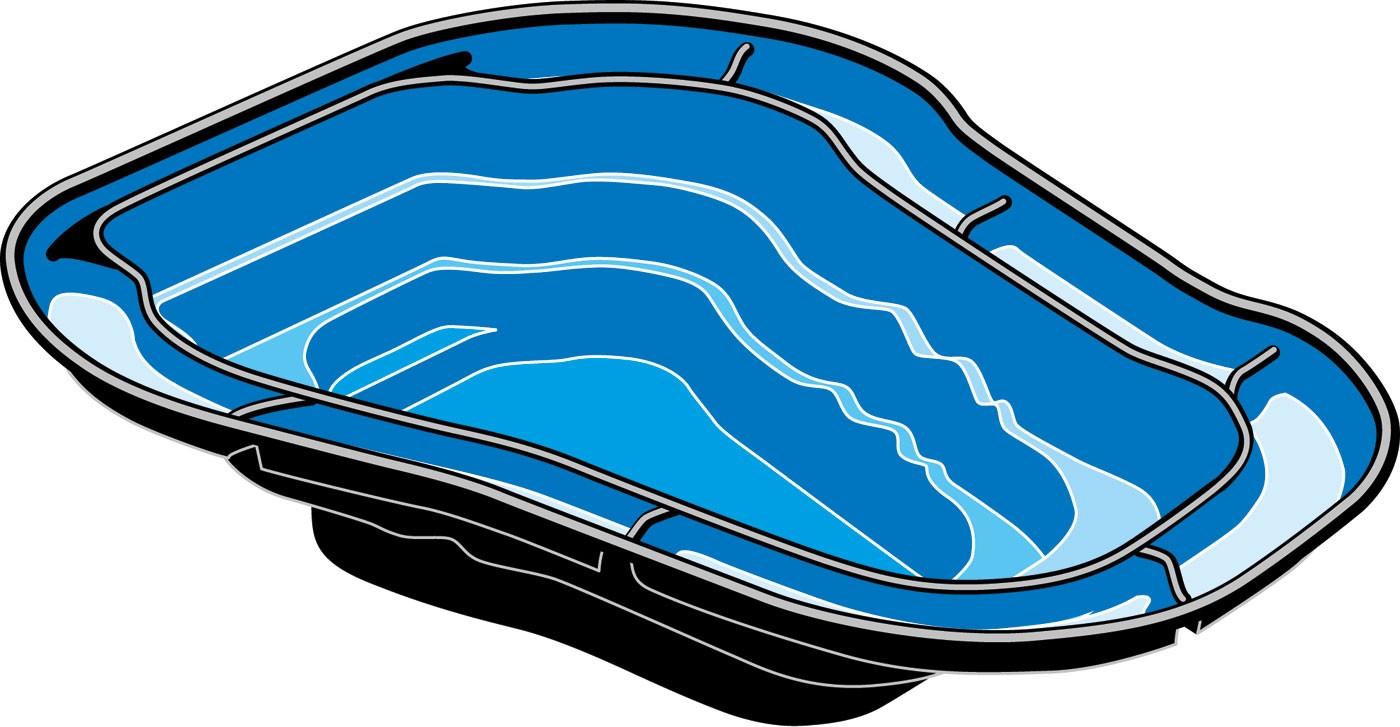 Bassin pr fabriqu ocean i for Bassin exterieur plastique