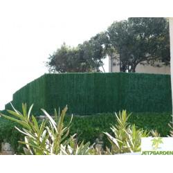 Haie artificielle de jardin en PVC 126 brins Supra 300 x 180 cm