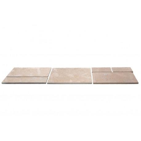Dalle en pierre naturelle sakkara grey ép. 1,3 cm, Module 0,72 m2 opus